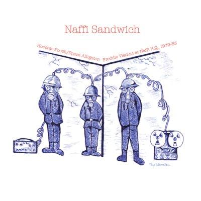 Photo1: Naffi Sandwich [ Hoochie Pooch/Space Alligator, 1979-83 ] LP