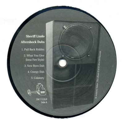 Photo2: Sheriff Lindo [ Aftershock Dubs ] LP