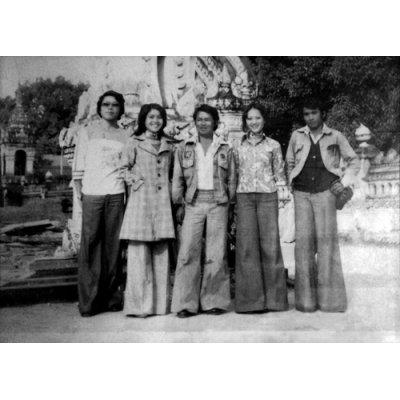 Photo2: Angkanang Kunchai with Ubon-Pattana Band [ Isan Lam Plearn ] CD