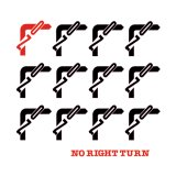 No Right Turn [ No Right Turn ] LP