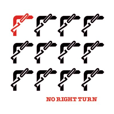 Photo1: No Right Turn [ No Right Turn ] LP
