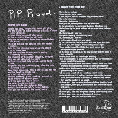 "Photo2: Pip Proud [ Purple Boy Gang c/w A Million Years From Now ] 7"" single"