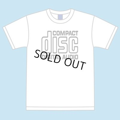 "Photo2: ""Compact Disc"" Tee (White)"