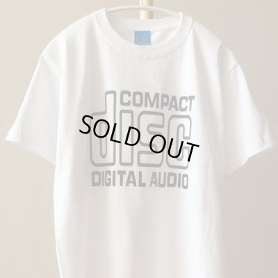 "Photo1: ""Compact Disc"" Tee (White)"